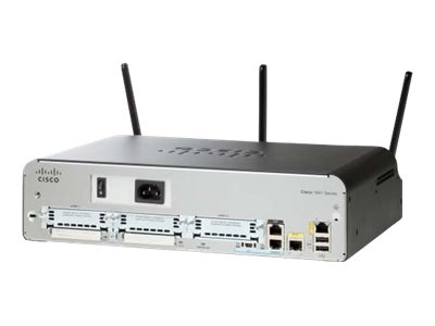 Cisco 1941 Security - Wireless Router - GigE - 802.11a/b/g/n (draft 2.0)