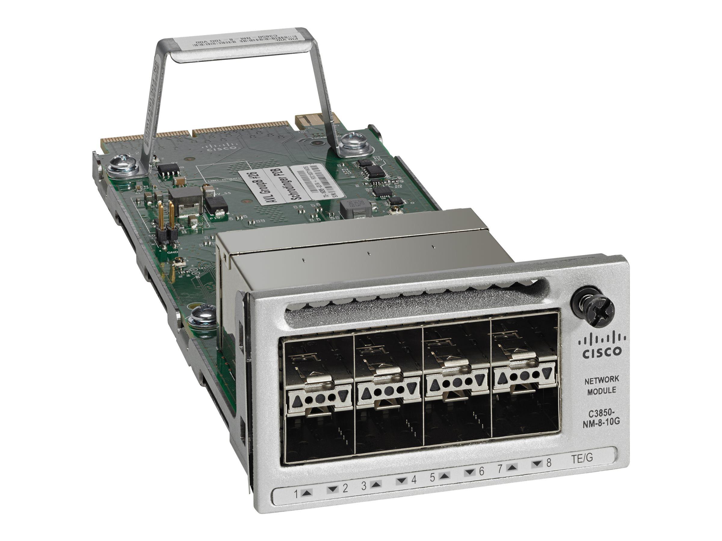 Cisco Erweiterungsmodul - 10 Gigabit SFP+ / SFP (mini-GBIC)