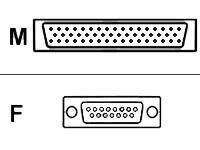Cisco X.21-Kabel (DCE) - Smart Serial (M)