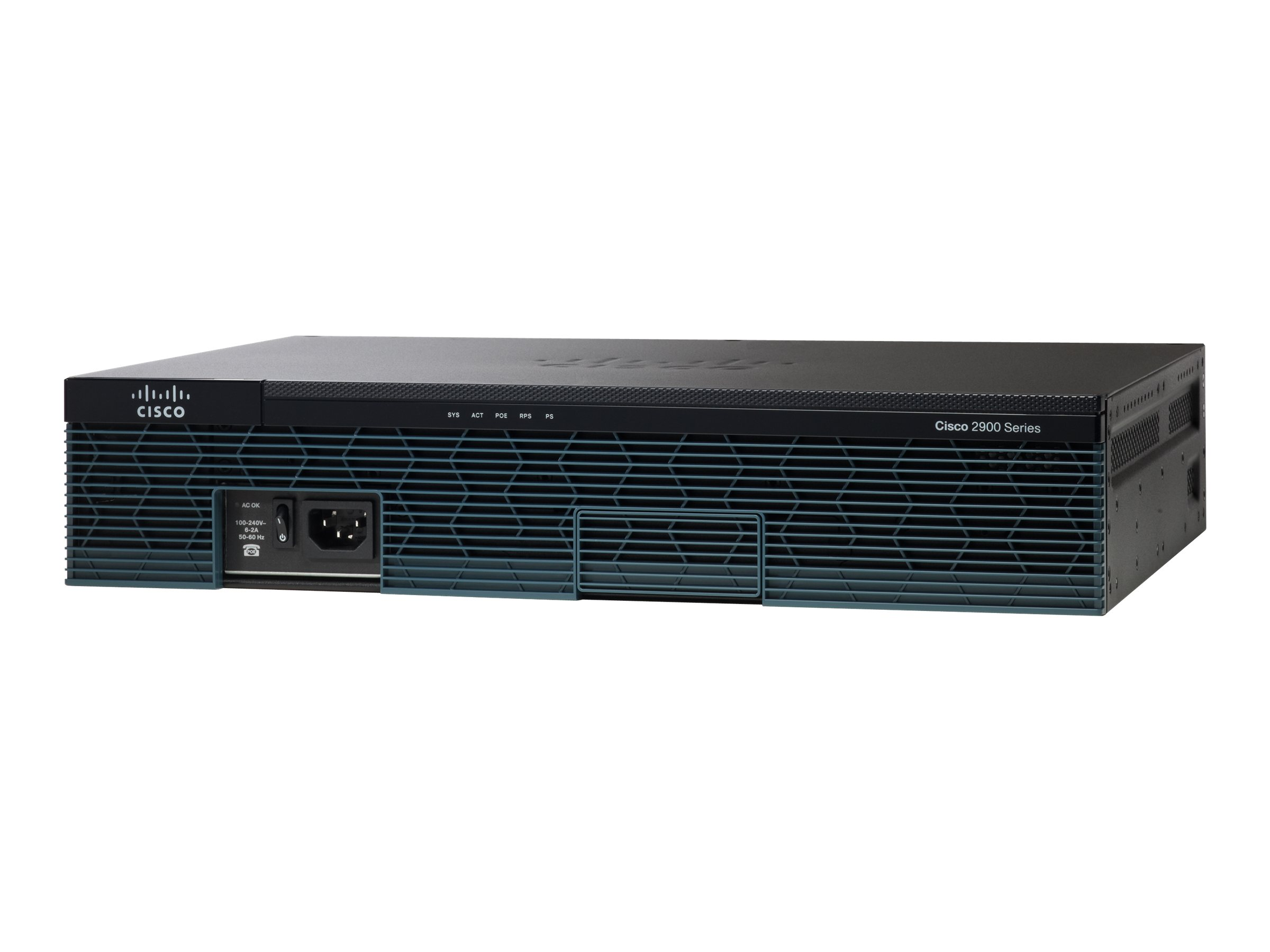 Cisco 2911 - Router - GigE - WAN-Ports: 3 - an