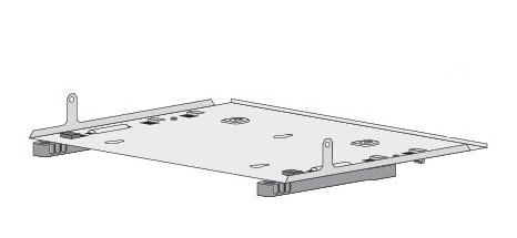 Cisco DIN-Schienenmontagekit - für Catalyst 3560