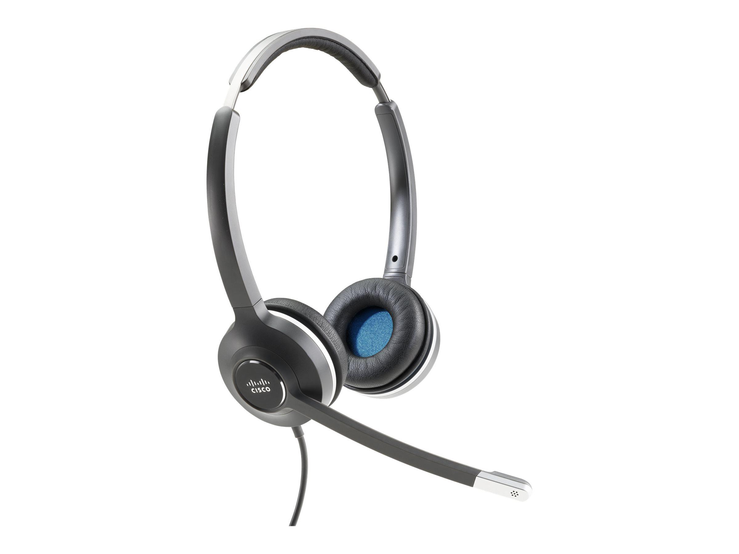 Cisco 532 Wired Dual - Headset - On-Ear - kabelgebunden