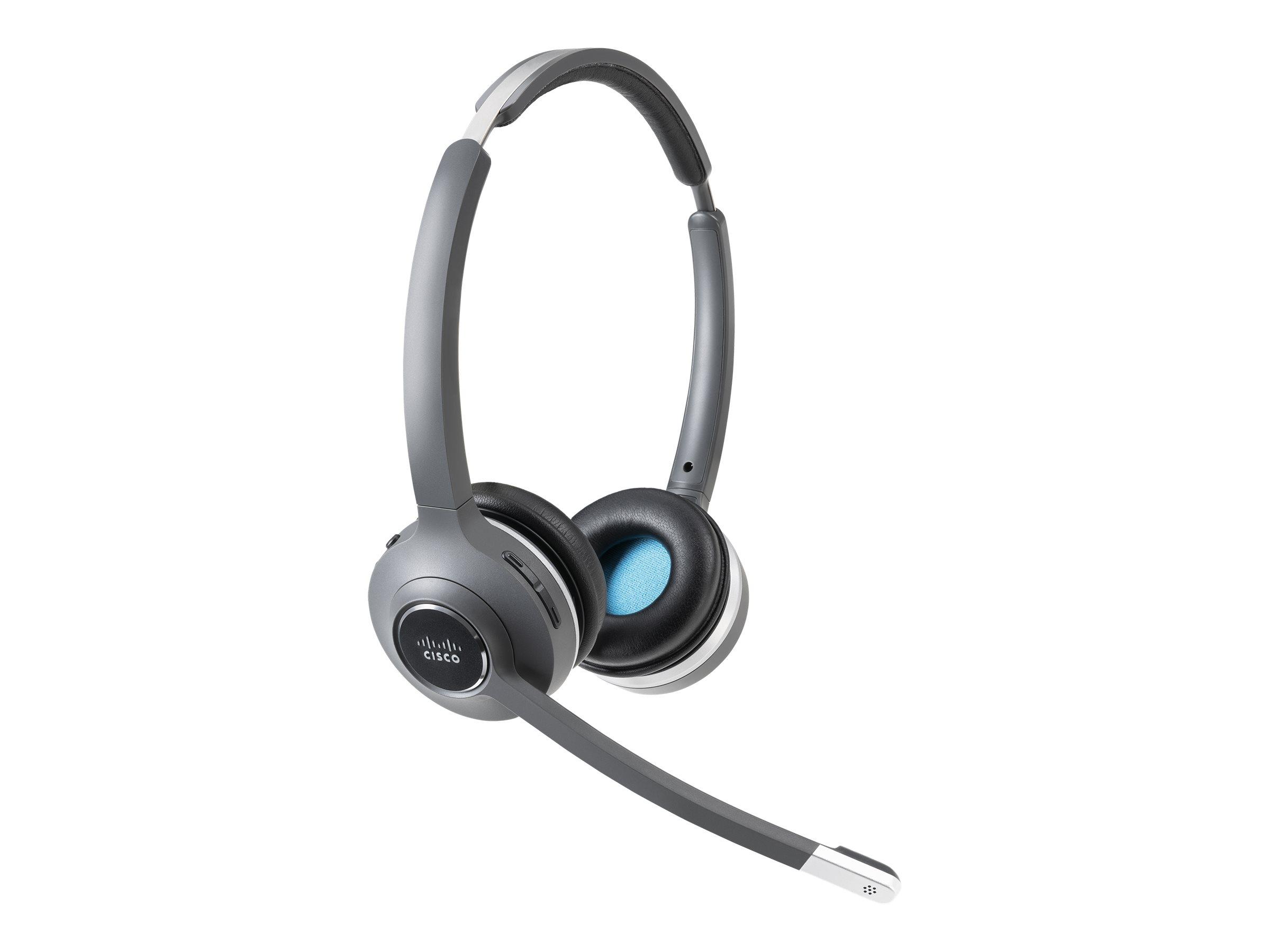 Cisco 562 Wireless Dual - Headset - On-Ear - DECT