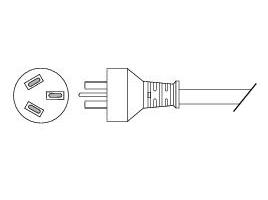 Cisco Stromkabel - IEC 60320 C13 bis IRAM2073 (GB2099)