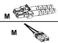 Cisco Netzwerkkabel - LC (M) bis SC (M) - 10 m