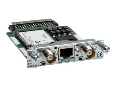 Cisco Third-Generation Wireless WAN Enhanced High-Speed WAN Interface Card