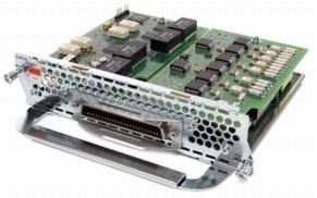 Cisco High Density VoiceFax Network Module - Sprach- / Faxmodul