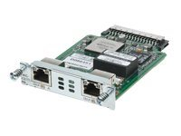 Cisco High-Speed Channelized T1/E1 and ISDN PRI - ISDN Terminal Adapter - HWIC - ISDN PRI - 2.048 Mbps - T-1/E-1 - Digitalsteckplätze: 2 (64 Kanäle)