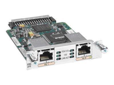 Cisco High-Speed - Erweiterungsmodul - HWIC - 10/100 Ethernet x 2