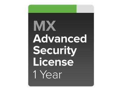 Cisco Meraki Advanced Security - Abonnement-Lizenz (1 Jahr)