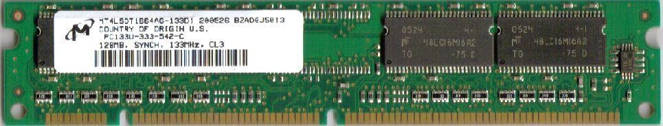 Cisco SDRAM - 128 MB - DIMM, 168-polig - 133 MHz / PC133