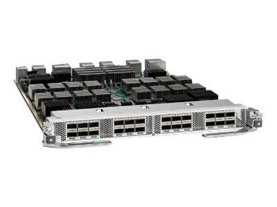 Cisco Nexus 7700 F3-Series 24-Port 40 Gigabit Ethernet Module - Erweiterungsmodul - 40 Gigabit QSFP+ x 24 (Packung mit 2)
