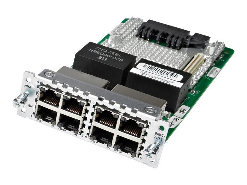 Cisco Fourth-Generation Multi-flex Trunk Voice/Channelized Data T1/E1 Module