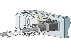 Cisco Power Clip for the 3560-C and 2960-C - Kabelklammer