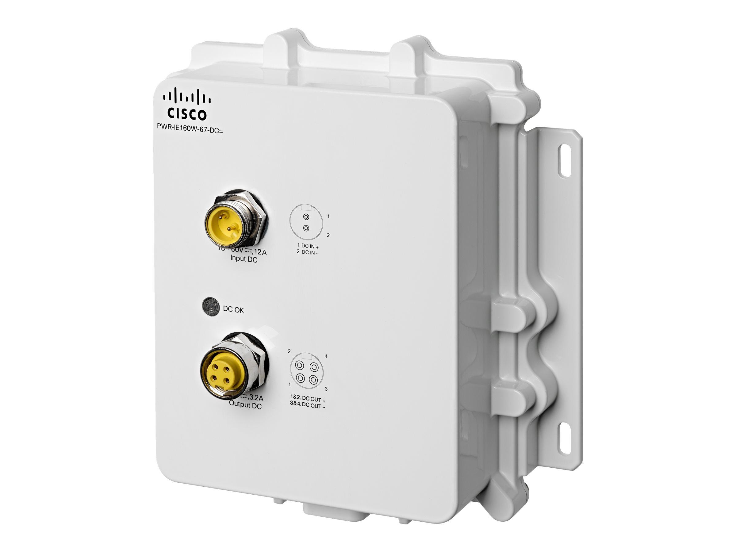 Cisco DC-DC Power Module for POE solution - Netzteil (DIN-Schienenmontage möglich)