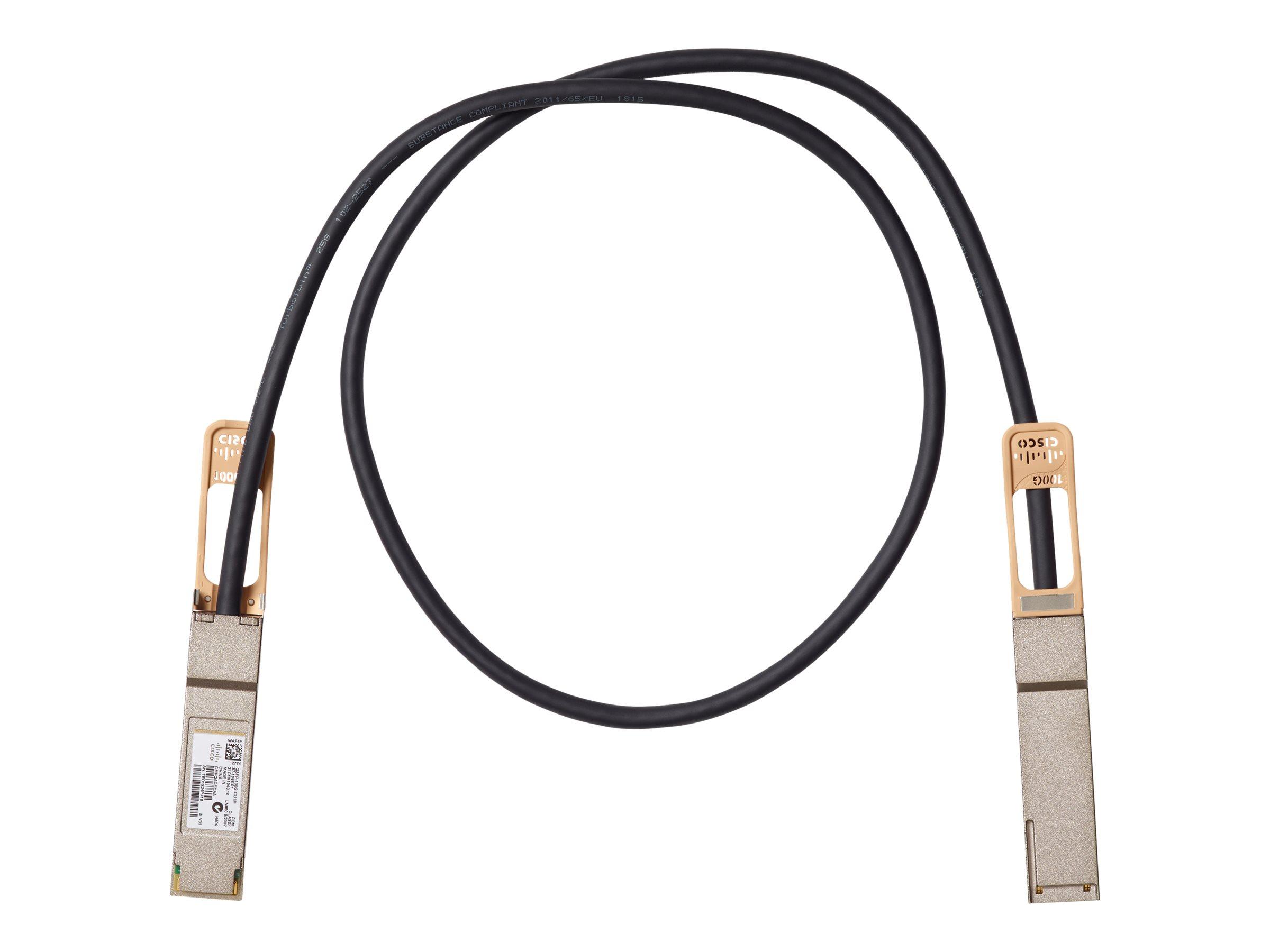 Cisco 100GBASE-CR4 Passive Copper Cable - Direktanschlusskabel