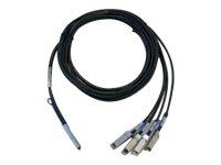 Cisco Netzwerkkabel - SFP+ bis QSFP+ - 1 m