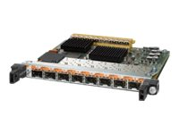 Cisco 8-Port Gigabit Ethernet Shared Port Adapter, Version 2 - Erweiterungsmodul - SFP (mini-GBIC)