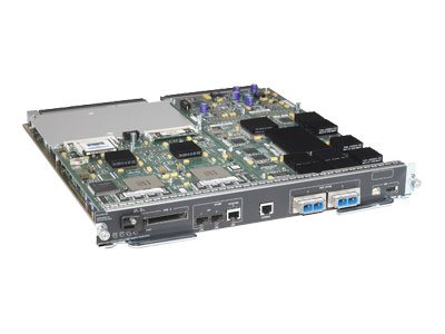 Cisco Virtual Switching Supervisor Engine 720 with two 10 Gigabit Ethernet ports and MSFC3 PFC3C