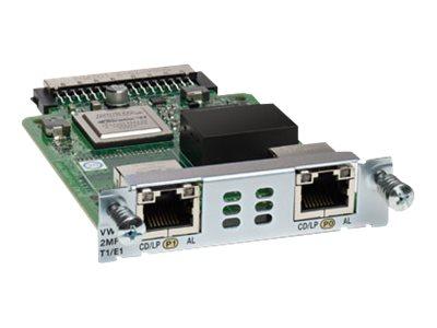 Cisco Third-Generation 2-Port T1/E1 Multiflex Trunk Voice/WAN Interface Card