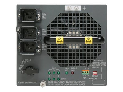 Cisco Enhanced AC Power Supply - Stromversorgung redundant / Hot-Plug (Plug-In-Modul)