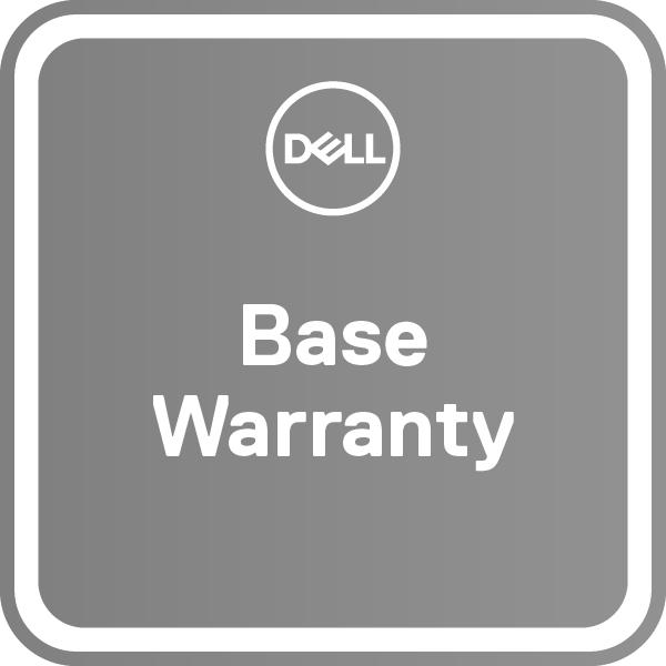Dell Erweiterung von 3 jahre Basic Onsite auf 5 jahre Basic Onsite - Serviceerweiterung - Arbeitszeit und Ersatzteile - 2 Jahre (4./5. Jahr)