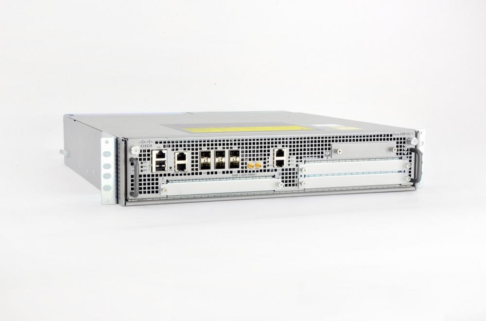 Cisco ASR 1002-X HA Bundle - Router - GigE - Luftstrom von vorne nach hinten