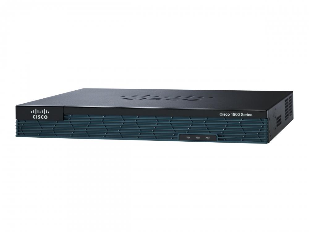 Cisco 1921 - Router - GigE - an Rack montierbar
