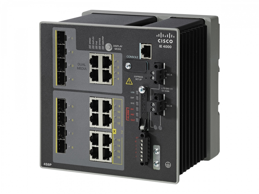 Cisco IE-4000-4GC4GP4G-E Switch