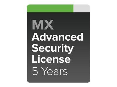 Cisco Meraki MX80 Advanced Security - Abonnement-Lizenz (5 Jahre)