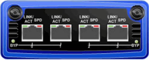 Juniper Erweiterungsmodul - Gigabit Ethernet x 2