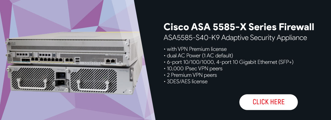 Cisco ASA 5585-X Series Firewall