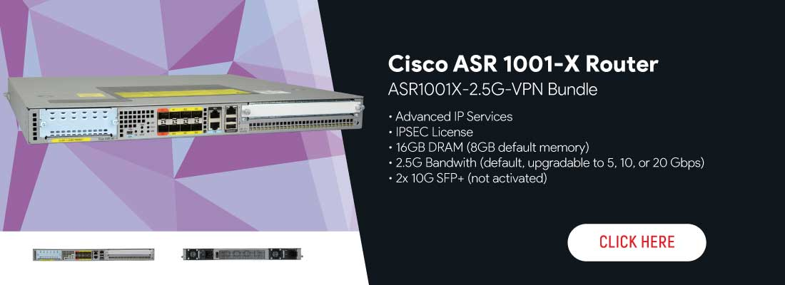 ASR1001X-2.5G-VPN Bundle